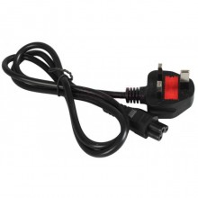 1.5M 3 Prong Power Cord Cable With 13A Fuse For Notebook Laptop