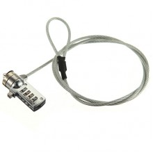1.0M 4 DIGITAL SECURITY PASSWORD LOCK CABLE CHAIN FOR LAPTOP NOTEBOOK PC