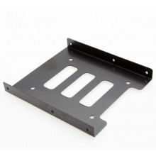 "2.5"" To 3.5"" SSD HDD Hard Disk Drive Bay Mounting Bracket"