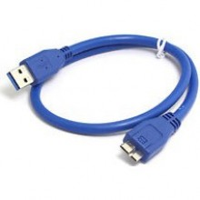 0.3M Super Speed USB 3.0 AM To Micro B Cable For External Harddisk