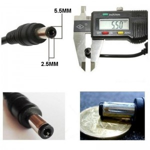 AC To DC 12V 1A UK 5.5mm X 2.5mm (2.1mm) Power Supply Adapter CCTV Charger LED