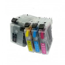Brother LC535/LC539XL REFILLABLE CARTRIDGE WITH INK