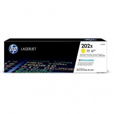 HP 202X (CF502X) Yellow High Yield Toner Cartridge