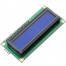 I2C 16x2 Arduino LCD Display Module - White On Blue 5V