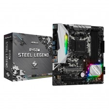 ASRock B450M Steel Legend AM4 Motherboard