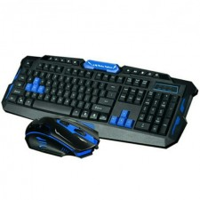 Wireless 2.4G Desktop Set V8 Wireless Keyboard And Wireless Mouse combo set