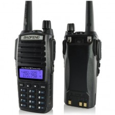 Baofeng UV82 8W Walkie Talkie FREE EARPIECE Radio VHF UHF Dual Band High Power