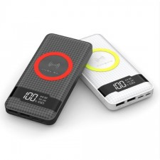 Pineng Wireless Power Bank PN 886 Super Slim 3 Input PowerBank 10000mAh