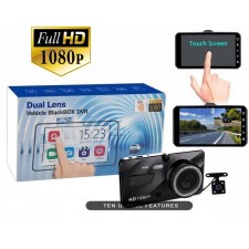 4.0 inch IPS touch screen car camera full HD 1080P 170 degrees dashcam nightvisi