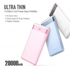 YOOBAO ULTRA SLIM 20000MAH POWERBANK P2000L