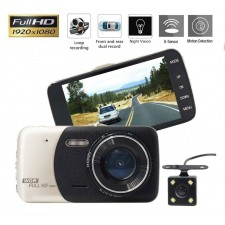 1080p HD Car Camera Dashboard DVR Video Recorder Dashcam Reverse Rear View