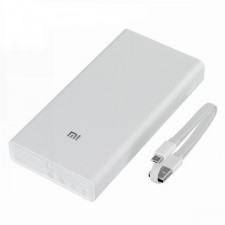 Xiaomi Mi 2C Dual USB 2 Output 20000mAh Quick Charger 3.0 Power Bank