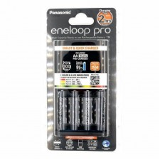 Panasonic Eneloop Pro AA Battery + Quick Charger (2550mAh)