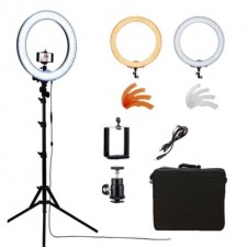 Studio ring light 18inch for make up videography video protrait set beauty light