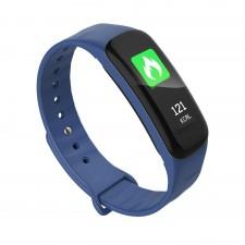 Blood Pressure Heart Monitor Pedometer Bracelet Band Color Screen