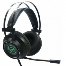 Alcatroz Xcraft HP-5 PRO 7.1 With 7 Pulsating LED Light Gaming Headset