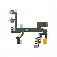 IPHONE 5S VOLUME MUTE FLASH & POWER BUTTON FLEX CABLE RIBBON