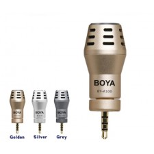 BOYA BY-A100 Mini Omni Directional Condenser Microphone 3.5mm