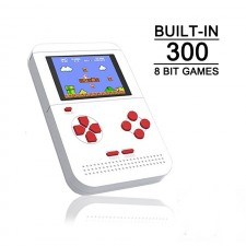 Q1 Retro mini Handheld Game Player built in 300 Classic Game pvp 129 pocket Game