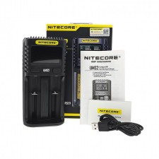 Nitecore Superb UMS2 Smart LCD Display USB Fast Charger