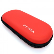 Red Anti-shock Hard Case Bag For PS Vita / PSP 3000 / 2000 / 1000 console