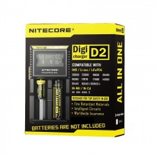 Nitecore D2 Digicharger LCD Display Battery Charger Malaysia 2 Pin Plug