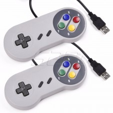 SNES Controllers 2 units with 800++ NES games DVD