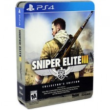 PS4 SNIPER ELITE III COLLECTOR EDITION AMMO TIN BOX - RALL