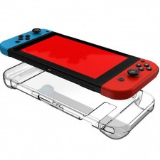 Transparent Hard Crystal Protective Cover Clear Case for Nintendo Switch
