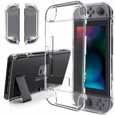 NINTENDO SWITCH TRANSPARENT CLEAN CRYSTAL PROTECTIVE CLEAR HARD CASE
