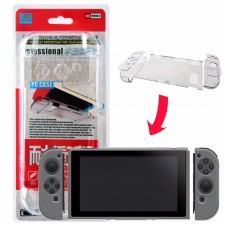 Transparent Clear Back Case Shockproof Anti-Scratch For Nintendo Switch