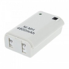 Microsoft XBOX 360 4800mAh Rechargeable Battery Pack- White