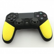 PS4 Controller Silicone Cover With Particle Grip Yellow