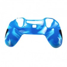 Playstation 4 Ps4 Controller Silicone Cover - Blue White