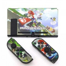 Uogo Dockable Hard Thin Case Cover For Nintendo Switch (Mario Kart)