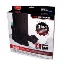 PS3 Pega MOVE 3IN1 STAND WITH CHARGE STATION