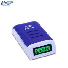 K209 Doublepow Ni-MH 1.2V Battery Charger 4 Slot Quick Charge