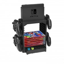Switch Multifunctional Game Storage Tower