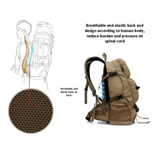 Hiking Backpack - HANDLE (40L)