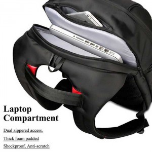 17.3-inch Large Capacity Laptop Backpack + USB port