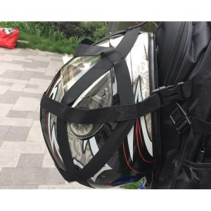 Helmet Carrier waterproof Bagpack Riding bag backpack with raincoat