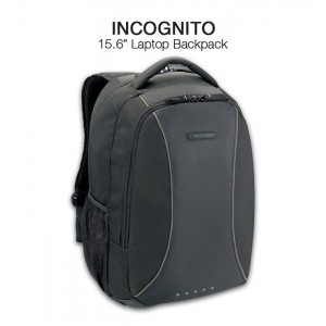 "Incognito Backpack TSB162AP - Black (15.6"")"