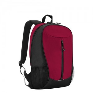 Student Bag School Bag Travel Casual Backpack - Dark Red
