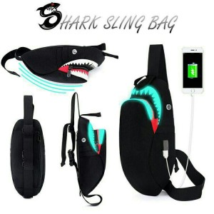 Men Slingbag with usb port