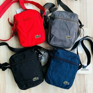 HOTSELL  SLINGBAG GREY RED BLUE BLACK COLOR