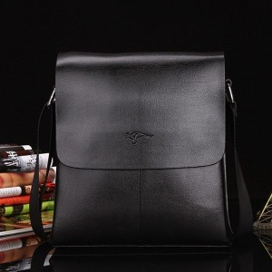 Soft Leather Men Messenger Bag Casual Business Man