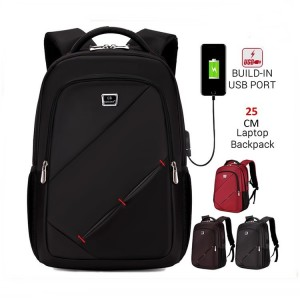Unisex Durable Waterproof 17 inch Laptop Daily Formal Office Backpack