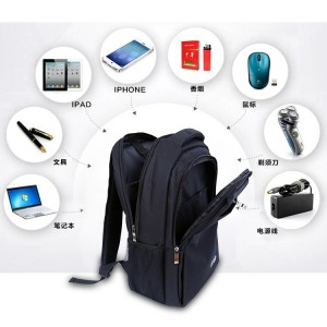 Dell Bag Waterproof Laptop Backpack Canvas Large (15.6'')