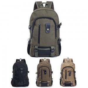 Warbase BP07 Casual Canvas Backpack