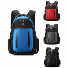 Outdoor Casual 17 inches Laptop Bag Ergonomic Design Travel Backpack